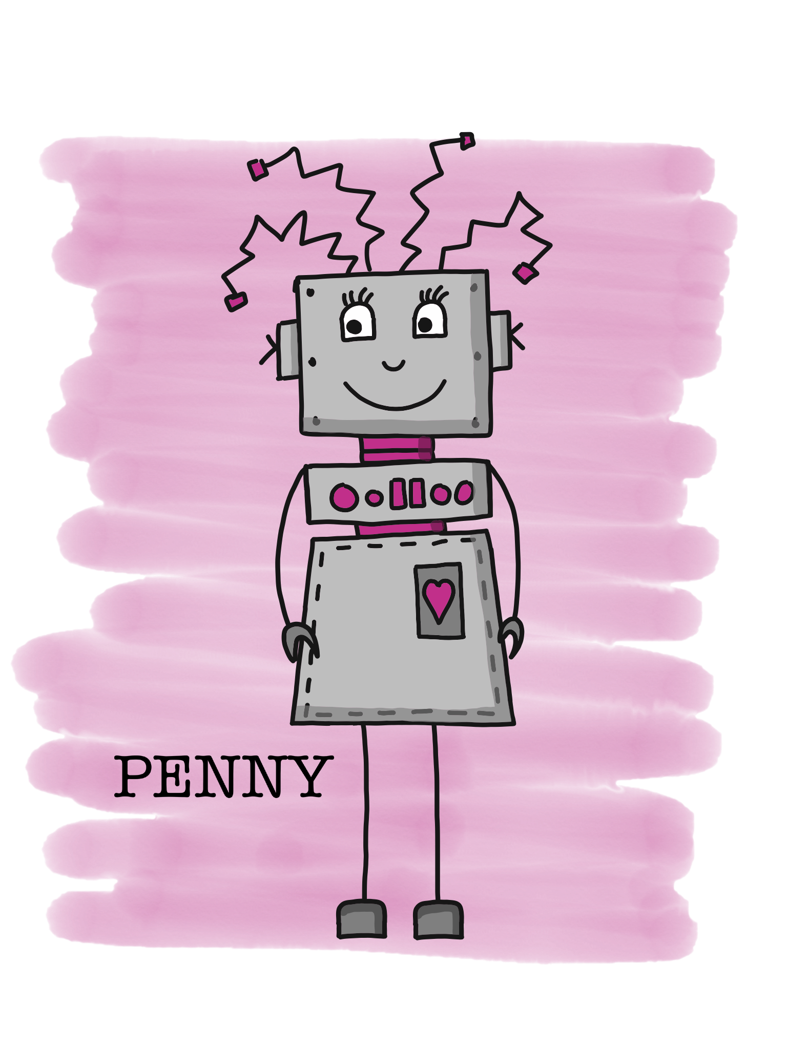 Charlottes beste Freundin Penny